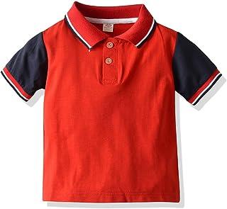 AIWUHE Baby-Jungen Poloshirt mit Krawatte Sommer Hemd Baumwollhemd Kurzarmhemd Wei/ß College-Stil Top