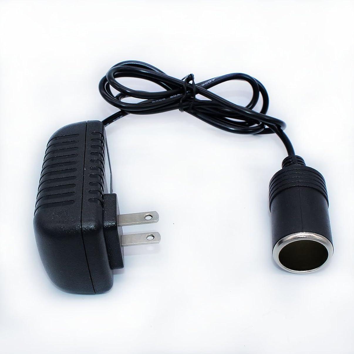 前任者含意手入れDAMAY AC-DCアダプター AC100VからDC12V/2Aコンバータ 車用品家庭で使える超静音 低発熱2Aまで変換アダプター出力24W未満の車載電気製品対応 PSE認証済 12ケ月品質保証 日本語説明書付