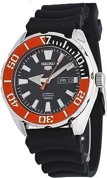 Seiko 5 Sports Automatic Black Dial Men's Watch