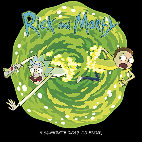 Price comparison product image Rick and Morty 2018 Wall Calendar