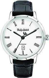 Philip Watch - Reloj para de automáticamente con Correa en Piel de Becerro de Cuero R8221598005