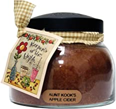 A Cheerful Giver Aunt Kook's Apple Cider 22 oz. Mama Jar Candle