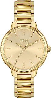 Hugo Boss damski analogowy zegarek kwarcowy z paskiem ze stali nierdzewnej 1502541