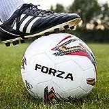 FORZA Ballon de Football Match | Ballons de Foot pour Matchs Professionnels (3 Tailles) (Taille 3, Lot de 1)