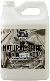 Chemical Guys TVD_201 - Natural Shine, Satin Shine Dressing for Plastic, Rubber and Vinyl (1 Gal)