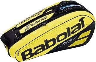 【6本収納】2019 バボラ ピュアアエロラケットバッグ 6本入 BB751182-191 (2019 Babolat Pure Aero Racket Holder x 6) 【2018年10月】(イエロー/ブラック)