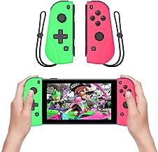 Zhongdawei Joy Con controlador de repuesto para Nintendo Switch, L/R Joycon Pad con correa de muñeca, alternativas para ma...