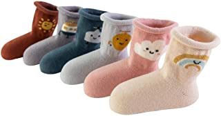 TeenFighter Simple and Lovely Comfortable Pure Cotton Socks for Newborn Baby, Infants, Toddlers and Chlidren.