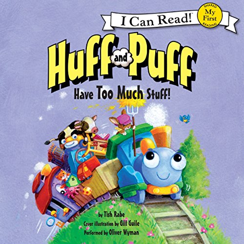 Huff and Puff Have Too Much Stuff! audiobook cover art