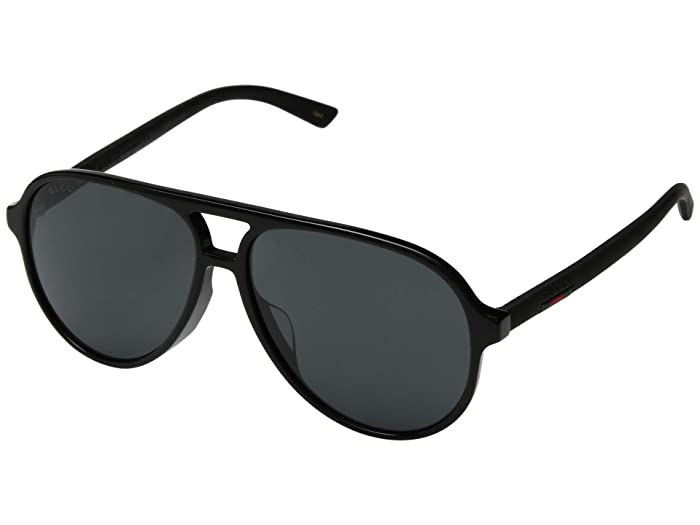 Gucci  GG0423SA (Black/Grey) Fashion Sunglasses