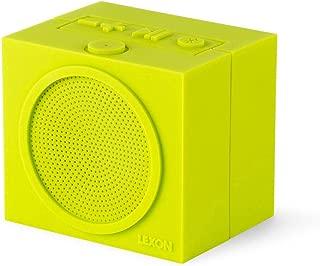 Lexon Square Tykho Rubber Rechargeable Bluetooth Speaker - Green
