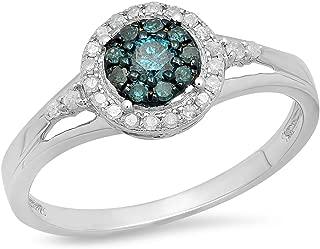 Best blue diamond engagement rings under 1000 Reviews