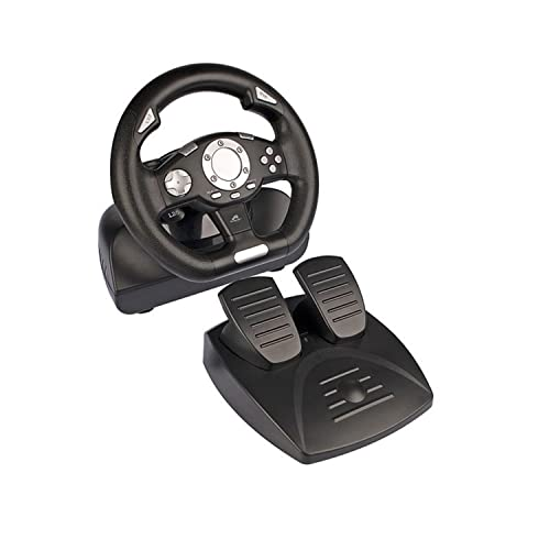 Tracer Sierra Volante + Pedales PC Negro - Volante/Mando (Volante + Pedales,