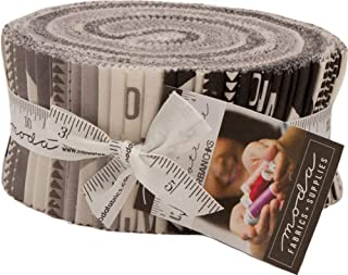 Urban Cottage Prints Jelly Roll 40 2.5-inch Strips by Urban Chiks for Moda Fabrics 31130JR
