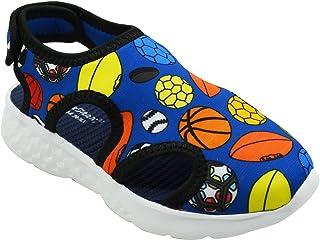 KazarMax Boy's & Girls' Blue Fashion Sandal - 4.5-5 Years