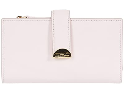 Marc Jacobs Half Moon Medium Wallet (Pink Tutu) Wallet Handbags