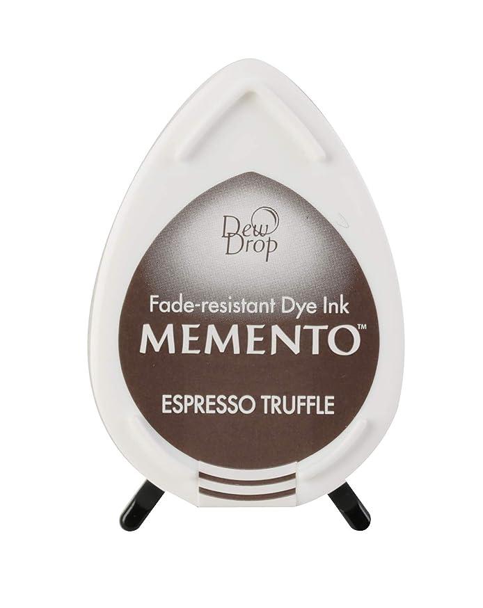 Tsukineko MD000808 Memento Dew Drop Fade Resistant Dye Inkpad, Espresso Truffle