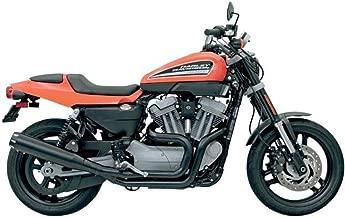Bassani Xhaust 09-10 Harley XR1200 Road Rage 2 B1 Power 2-Into-1 Exhaust (Black)