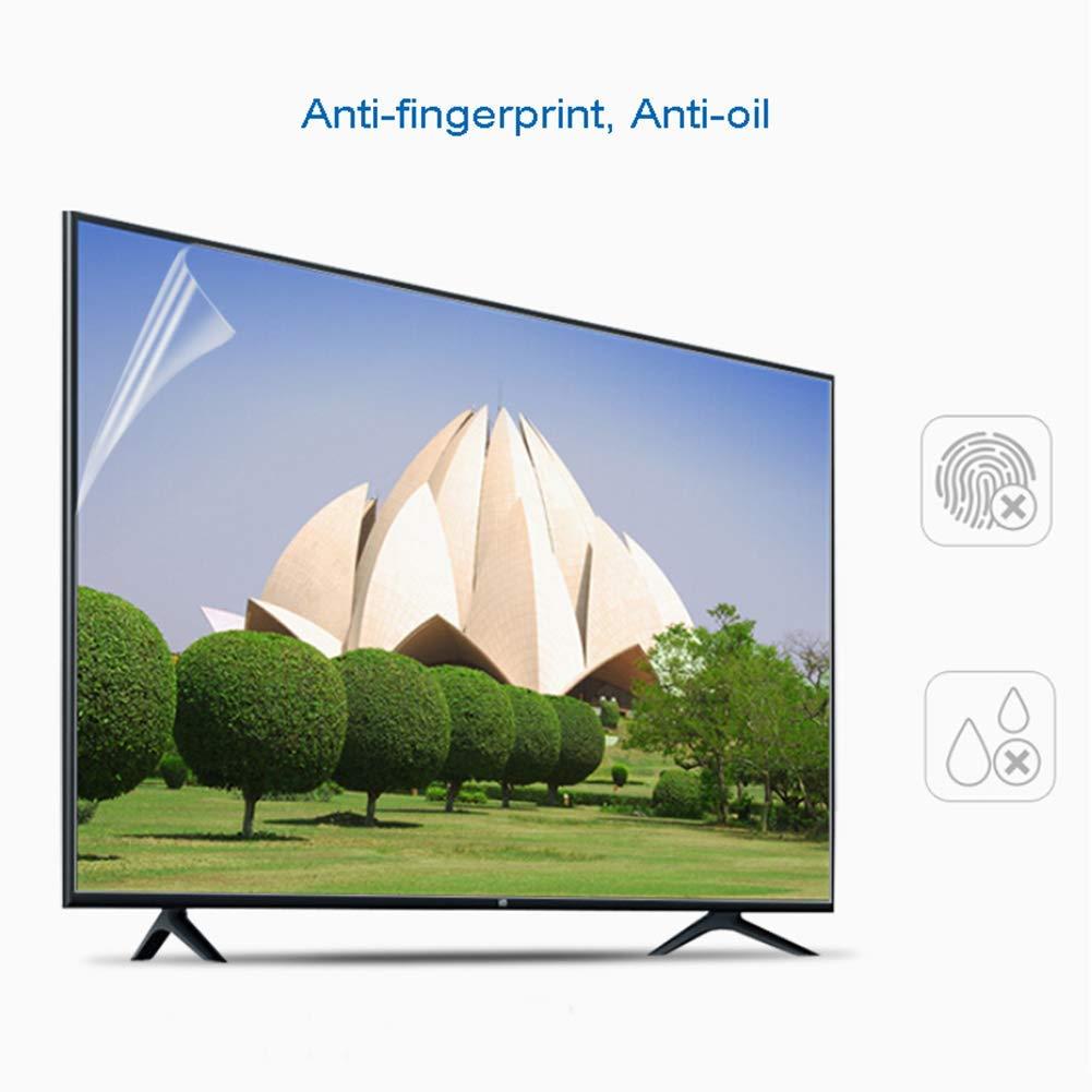 WTTO 45 Pulgadas Protector De Pantalla De TV, Antiazul TV Protección de Pantalla Antideslumbrante Alivia La Fatiga Ocular Filtro para LCD/LED y Plasma HDTV televisor,Ultra-Clear: Amazon.es: Hogar