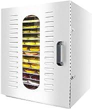 Máquina de conservación de alimentos para el hogar Deshidratador de frutas, Secador multifuncional de gran capacidad para temperaturas ajustables de 35-90 ° C para frutas y carnes frescas y secas Reji
