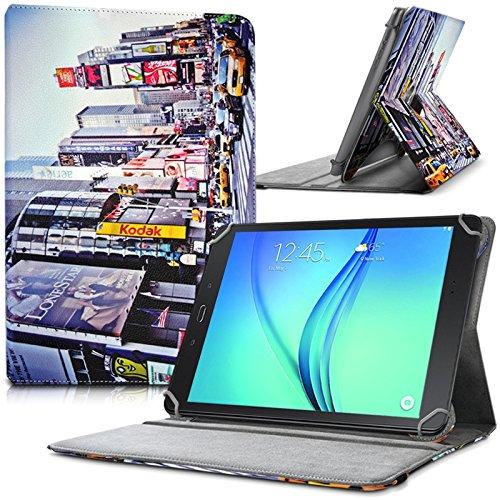 KARYLAX - Funda de protección y soporte universal L (tamaño 27,5 x 19 cm), diseño KJ26B para Alcatel One Touch Pixi 3 (10)