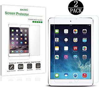 RKINC Screen Protector for Apple iPad Air 3 10.5, [2 Pack] Crystal Clear Tempered Glass Screen Protector [9H Hard][2.5D Ed...