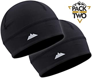 Tough Headwear Skull Cap/Helmet Liner/Running Beanie -...