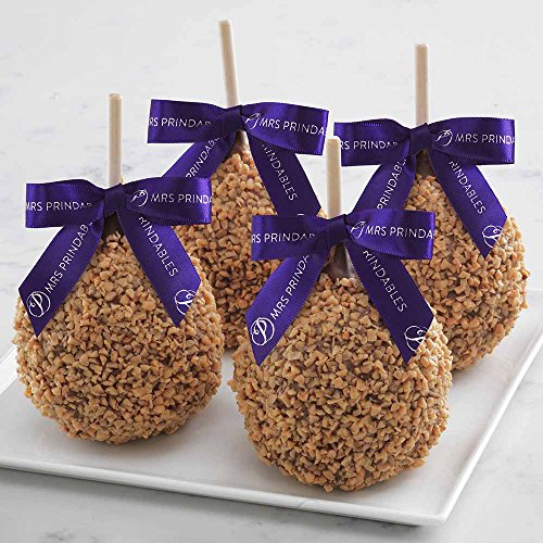 Milk Chocolate Toffee Walnut Petite Caramel Apple 4-Pack