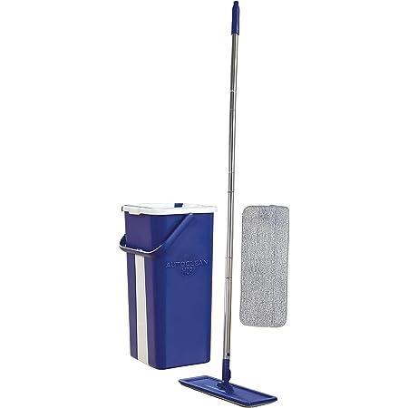 STARLYF AUTOCLEAN MOP - Le système lave-sol auto nettoyant, auto séchant - un balai à microfibres et un seau à deux compartiments.