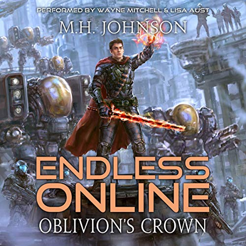 Oblivion's Crown audiobook cover art