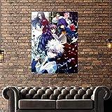 CHBOEN Pintura Monopolio modular Richie en caja de reloj cuadro de lienzo pintura infantil decoración del hogar impresiones póster sala de estar moderno sin marco arte de pared 50x70cm