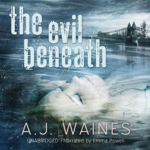 The Evil Beneath audiobook cover art