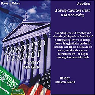 Directed Verdict                   By:                                                                                                                                 Randy Singer                               Narrated by:                                                                                                                                 Cameron Beierle                      Length: 16 hrs and 25 mins     85 ratings     Overall 4.3