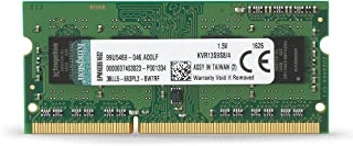 Kingston KVR13S9S8/4 - Memoria RAM de 4 GB (1333 MHz DDR3 Non-ECC CL9 SODIMM 204-pin, 1.5V)