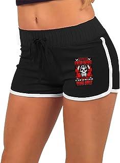女性のローウエストホットパンツ OILFIELD WORKER ショートパンツ ファッションエクササイズフィットネスランニング