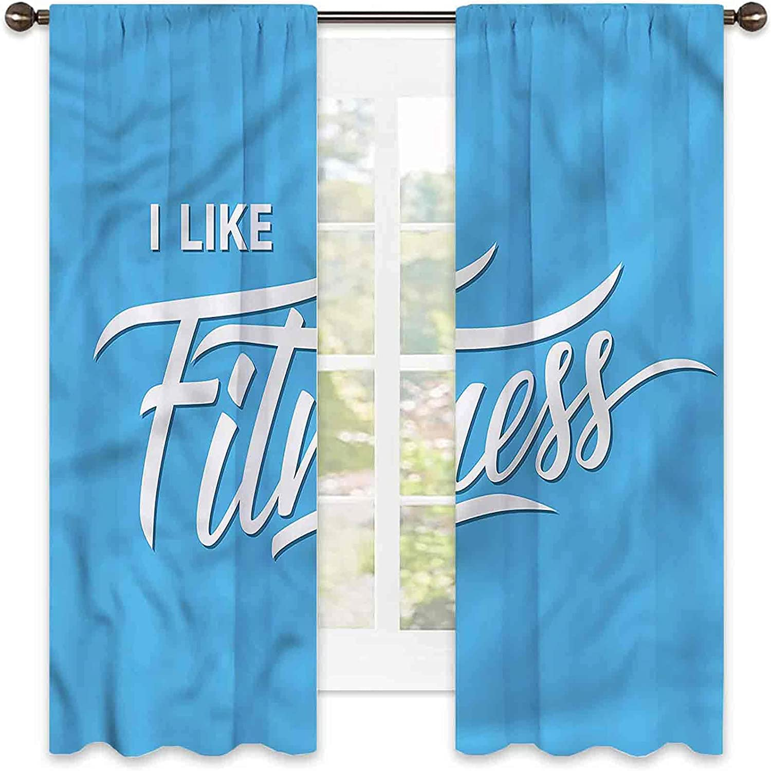 Fitness 90% Blackout Special price Curtains Waterproof Max 50% OFF Like I Quote