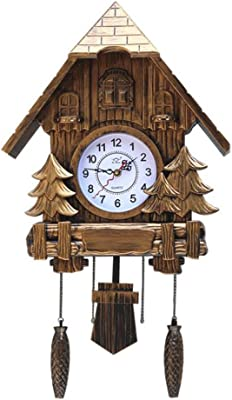 Olici Wall Art Decoration The Cuckoo Clock Wall Color Pastoral Cartoon Living Room ChildrenS Room Watch
