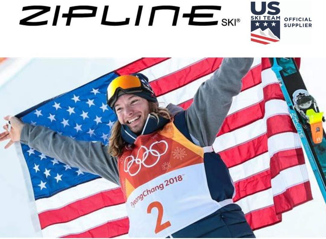 Ski Poles Graphite Carbon Composite Ski Team Official Supplier Zipline Lollipop U.S