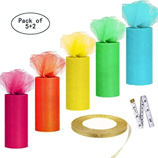 Best wide tulle ribbon Reviews