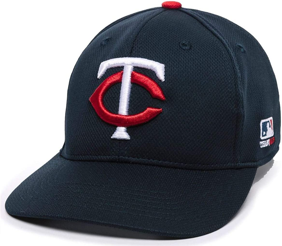OC Sports Minnesota Twins Q3 Wicking Navy Blue Hat Cap Adult Men's Adjustable