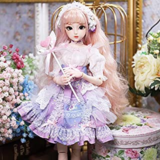 Diary Queen Fortune Days Original Design 18 inch Dolls(with Gift Box), Series 26 Joints Doll, Best Gift for Girls (Teresa)