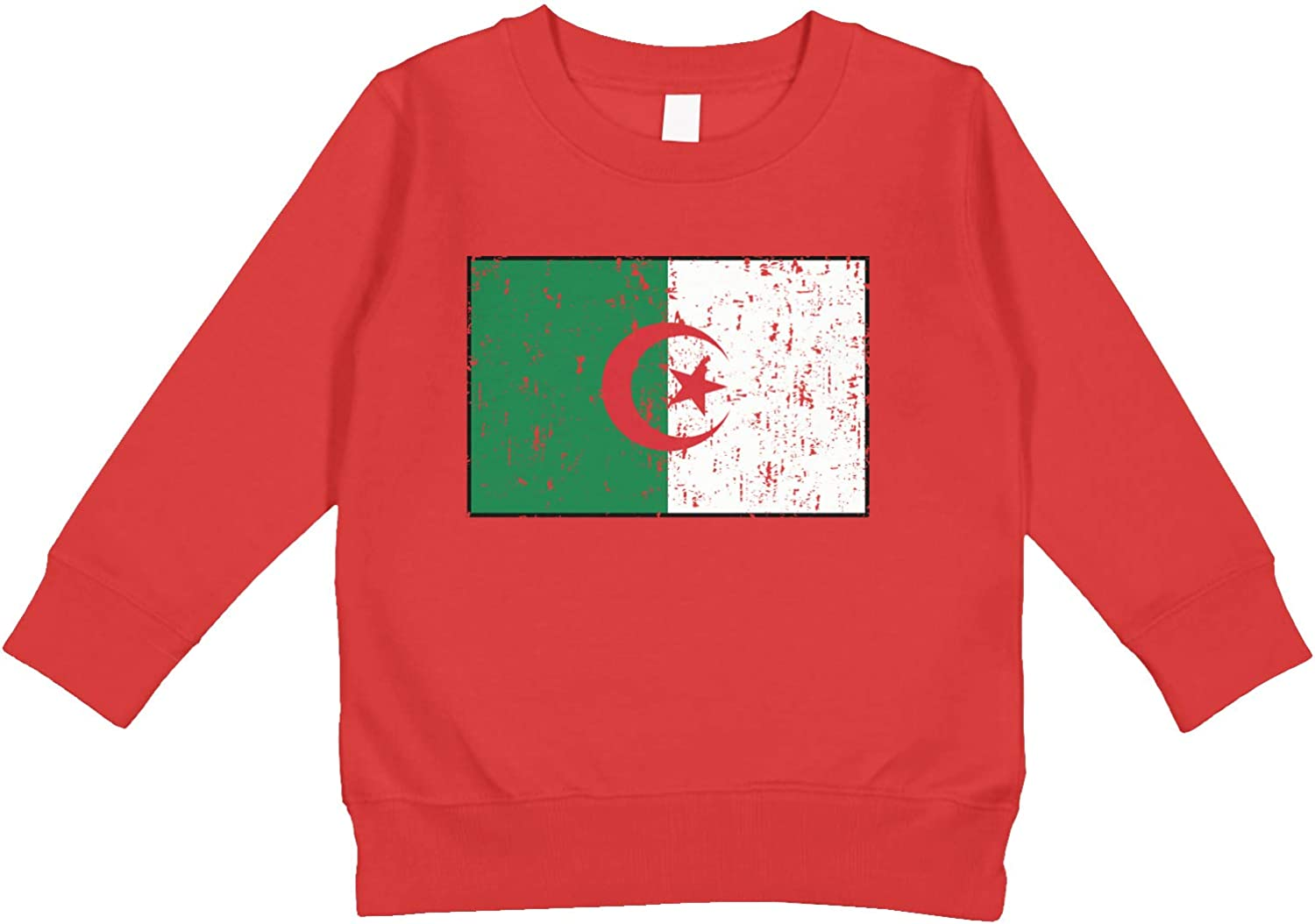 Amdesco Algerian Flag Flag of Algeria Toddler Sweatshirt