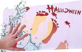 Lernmeem Floor Mat Halloween Color-Changing Anti-Slip Mats Carpet for Bathroom Puzzle Play Mats