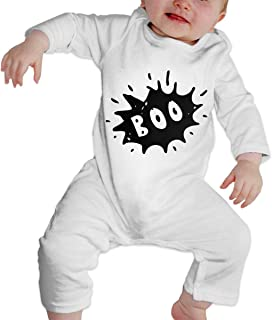 Mri-le1 Baby Boy Organic Coverall The Skull and A Dragon-1 Toddler Jumpsuit
