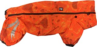 hurtta 系列 slush COMBAT 宠物西装,花岗岩 Orange Camo 20M