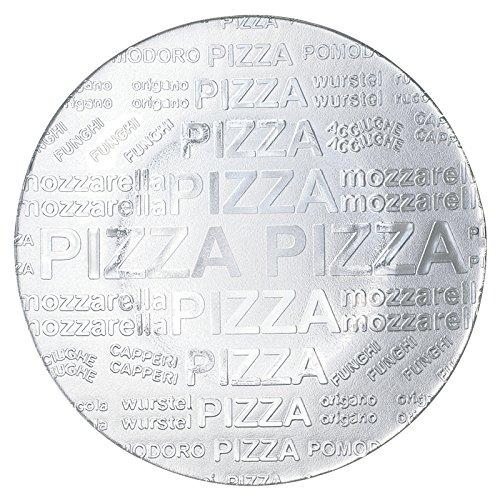 Excelsa 33987 Color Passion Piatto Pizza, Vetro, Trasparente, 35 cm