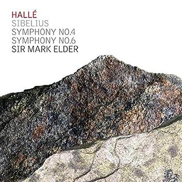 Sibelius Symphonies No 4 & 6