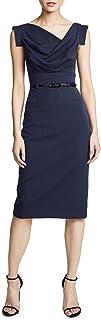 Sponsored Ad - Black Halo Women's Jackie O Belted Dress