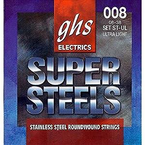 Bobinado de acero inoxidable Ofrece un sonido claro También asegura un sostenido largo Cuerda para guitarra de acero