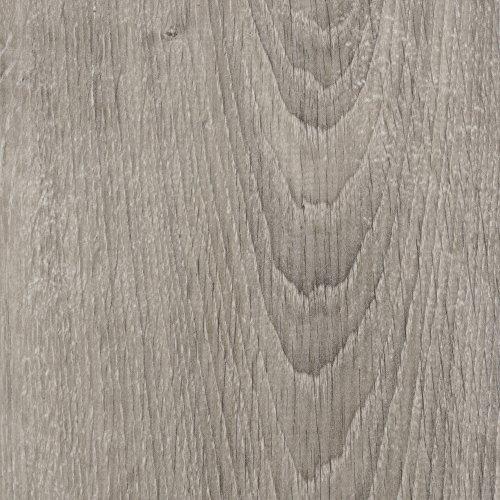 BODENMEISTER BM75001 Klick Laminat-Boden Holzoptik, Dielenoptik Eiche grau silber, 1380 x 193 x 8 mm